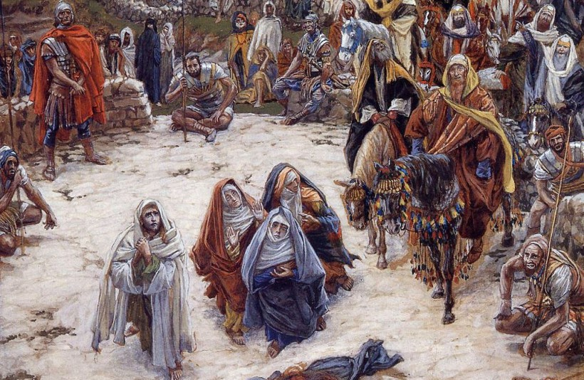 James   Tissot - What Our Saviour Saw from the Cross