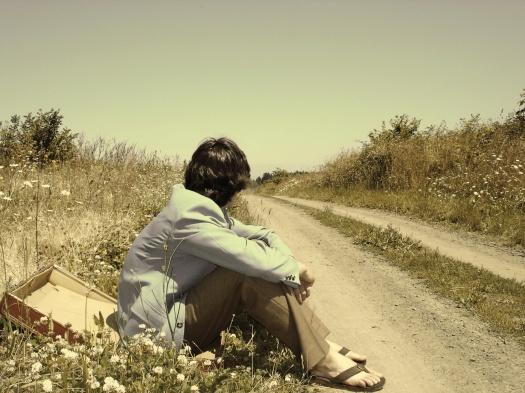 waiting-down